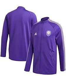 Men's Purple Orlando City SC 2020 On-Field Anthem Full-Zip Jacket