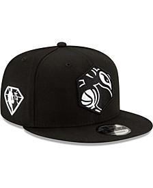 Men's Black Charlotte Hornets 2021 NBA Draft Alternate 9Fifty Snapback Hat