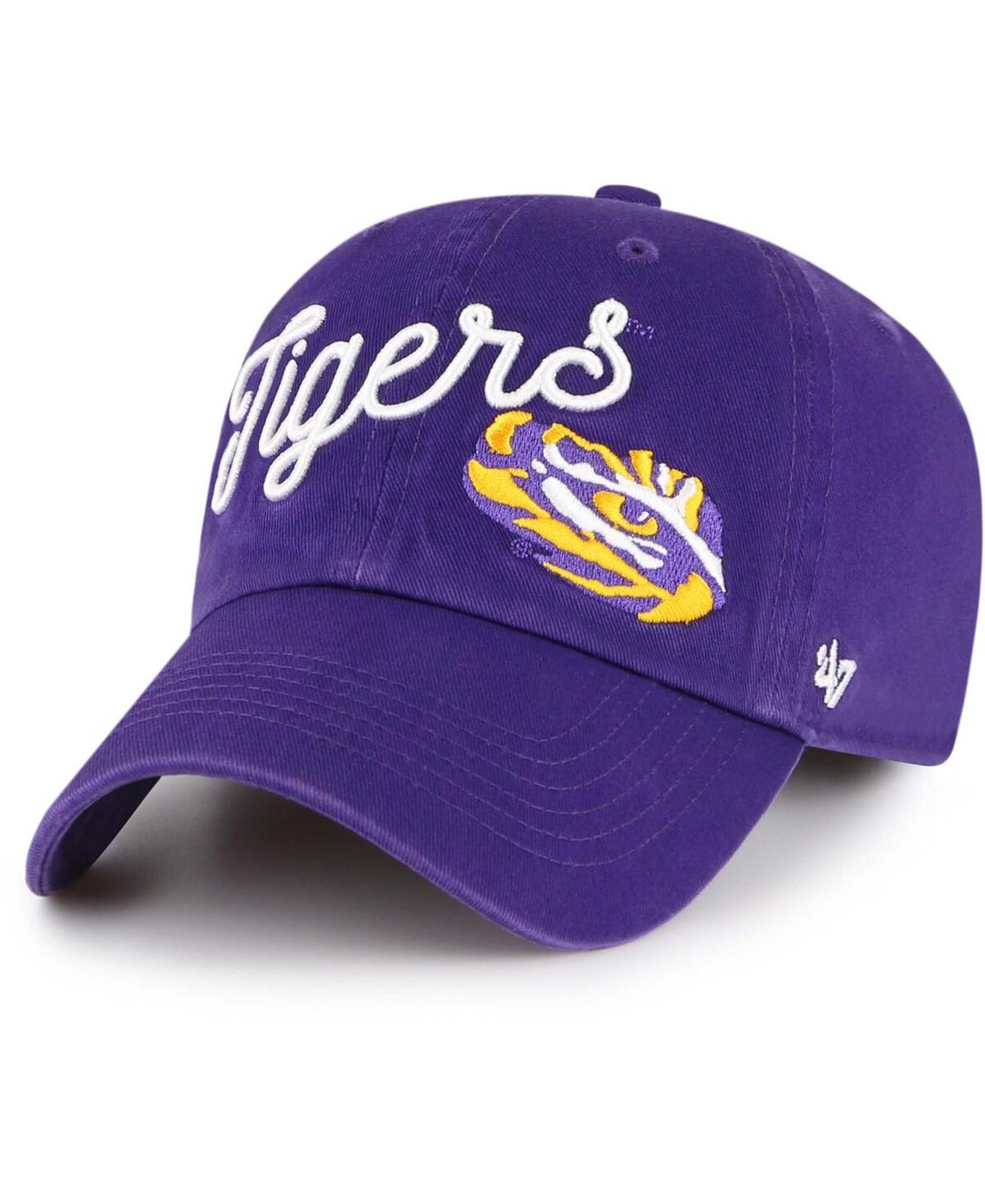 Womens Purple Lsu Tigers Millie Clean Up Adjustable Hat