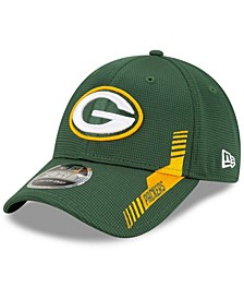 Toddler Girl's and Boy's Green Green Bay Packers 2021 NFL Sideline Home 9Forty Snapback Adjustable Hat