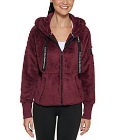 Women's Dropped Shoulder Zip Front Jacket