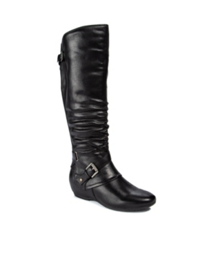 Patricia Tall Ruched Boots Women's Shoes