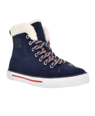 Women's Olina Lace Up High Top Sneakers