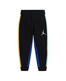 Big Boys Air Color Block Fleece Pants