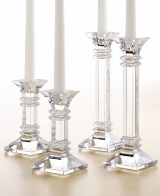 Perfect Marquis By Waterford Treviso Candle Holders Collection
