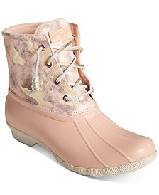 Women's Saltwater Metallic Camo Duck Boots
