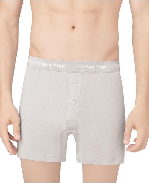 cbfe1c7ec9 Calvin Klein Men s Classic Knit Boxers 3-Pack NU3040   Reviews ...