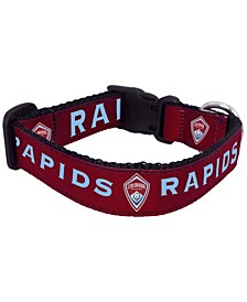 Burgundy Colorado Rapids Dog Collar
