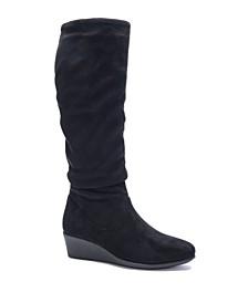 Women's Lali Wedge Regular Calf Boots