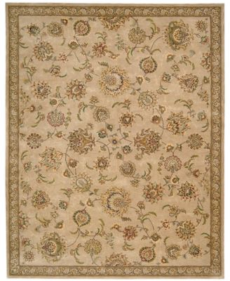 "Wool & Silk 2000 2360 9'9"" x 13'9"" Area Rug"