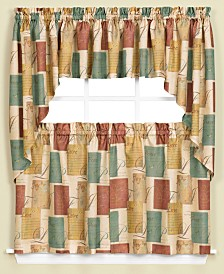 "Saturday Knight Tranquility 58"" x 35"" Swag Valance Pair"