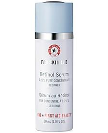FAB Skin Lab Retinol Serum 0.25% Pure Concentrate - Sensitive/Beginner, 1-oz.