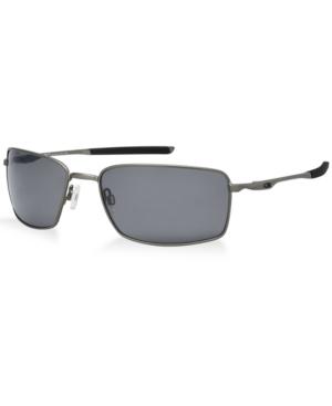 Oakley Polarized Square Wire Sunglasses, OO4075