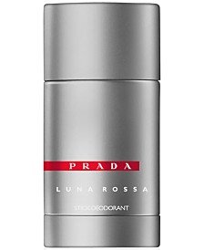 Receive a complimentary Prada Luna Men's Rossa Deodorant Stick, 2.5 oz with any large Prada Luna Rossa fragrance purchase