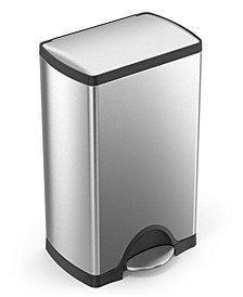 38-Liter Deluxe Rectangular Step Trash Can