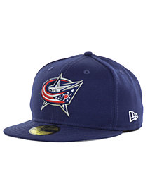 New Era Columbus Blue Jackets Basic 59FIFTY Cap