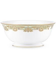 Rococo Leaf Serving Bowl