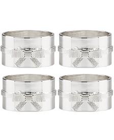 Set of 4 Grace Avenue Napkin Rings