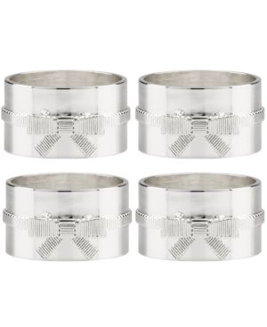 kate spade new york Set of 4 Grace Avenue Napkin Rings