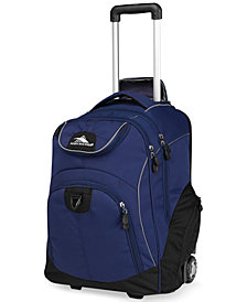 High Sierra Powerglide Rolling Backpack in Brick