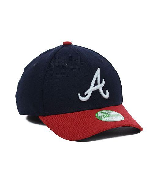 separation shoes 41e26 20e08 ... New Era Atlanta Braves Team Classic 39THIRTY Kids  Cap or Toddlers  ...