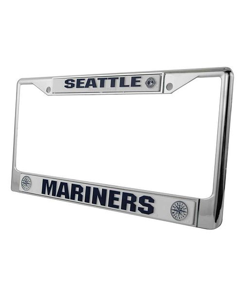 Rico Industries Seattle Mariners License Plate Frame - Sports Fan ...