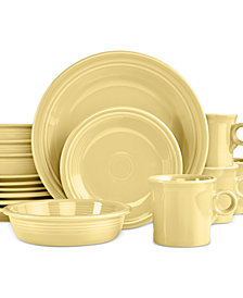 Fiesta 16-Piece Ivory Set, Service for 4