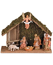 Fontanini Nativity 7-Piece Set with Stable