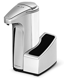 simplehuman Sensor Pump Soap Dispenser with Caddy
