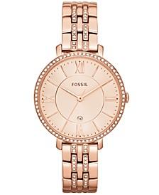 Women's Jacqueline Rose Gold-Tone Stainless Steel Bracelet Watch 36mm ES3546