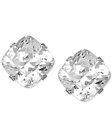 Swarovski Zirconia Stud Earrings in 14k White Gold (3-9/10 ct. t.w)