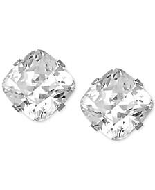 Swarovski Zirconia Stud Earrings in 14k White Gold (3-9/10 ct. t.w)
