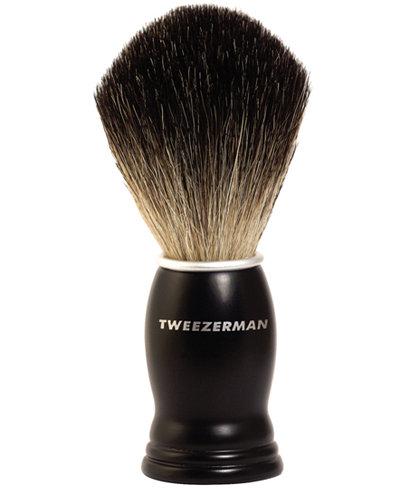 Tweezerman GEAR Men's Deluxe Shaving Brush