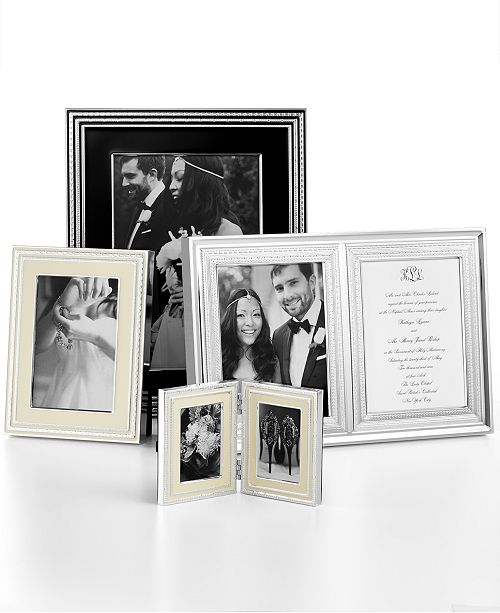 Vera Wang Wedgwood With Love Picture Frame Collection - Picture ...