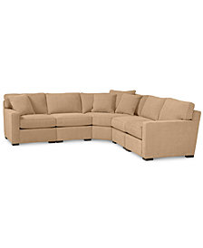 Radley 5-Piece Fabric Sectional Sofa - Custom Colors, Created for Macy's