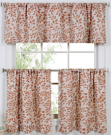 CLOSEOUT! Elrene Serene Window Treatment Collection - Easy Care Linen Look!