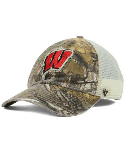 '47 Brand Wisconsin Badgers NCAA Closer Cap
