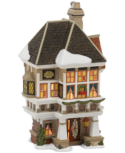 Department 56 Dickens 39 Village Nephew Fred 39 S Home