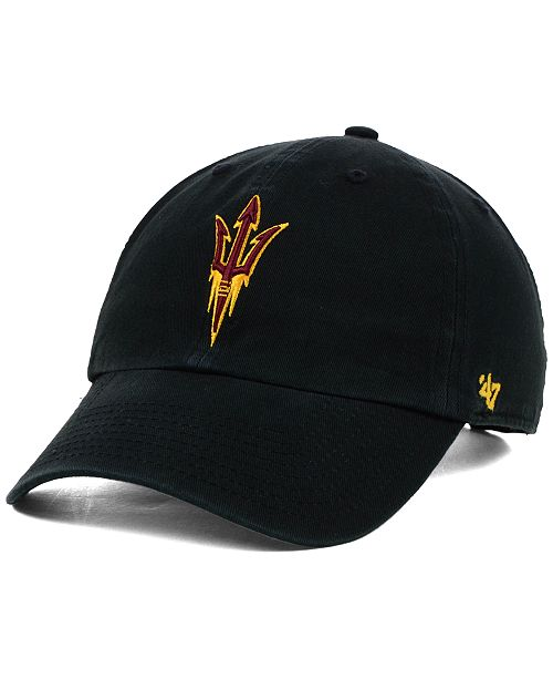 save off 9908e 43b20 ...  47 Brand Arizona State Sun Devils Clean-Up Cap    ...