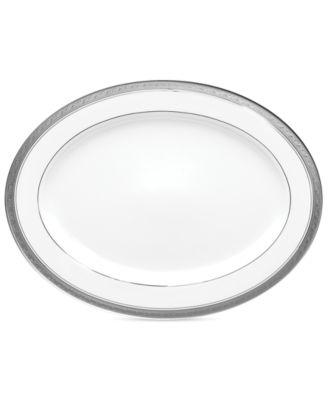 Dinnerware, Crestwood Platinum Oval Platter