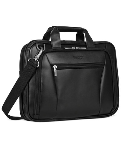 Kenneth Cole Reaction Leather Double Gusset Laptop