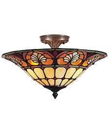 Dale Tiffany Semi-Flush Mount Ceiling Fixture
