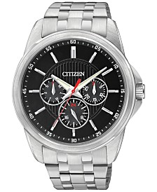 Citizen Men's Stainless Steel Bracelet Watch 42mm AG8340-58E