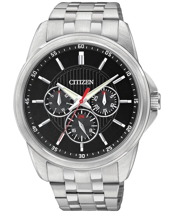Citizen - Men's Stainless Steel Bracelet Watch 42mm AG8340-58E