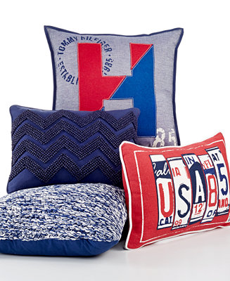 Tommy Hilfiger Decorative Bed Pillows : Tommy Hilfiger All-American Decorative Pillow Collection - Decorative Pillows - Bed & Bath - Macy s