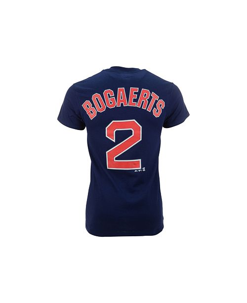 8e4a1741 ... Majestic Men's Short-Sleeve Xander Bogaerts Boston Red Sox T-Shirt ...