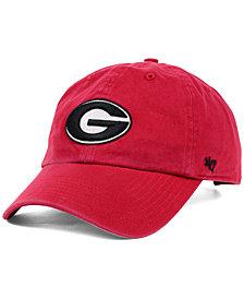 '47 Brand Georgia Bulldogs NCAA Clean-Up Cap