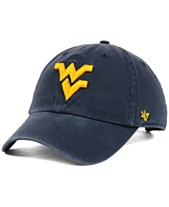 3ad8cefef52  47 Brand West Virginia Mountaineers NCAA Clean-Up Cap