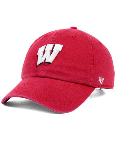 '47 Brand Wisconsin Badgers NCAA Clean-Up Cap