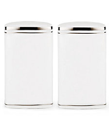 kate spade new york Dinnerware, Library Lane Platinum Salt and Pepper Shakers